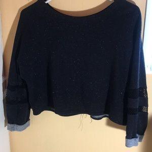 Cropped Vintage Pullover
